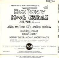ELVIS PRESLEY King Creole Vol. 1 EP Vinyl Record 7 Inch RCA